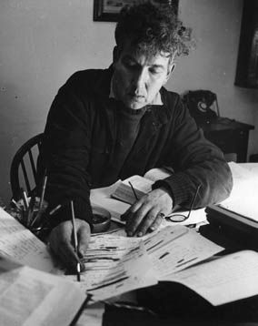 Robert Graves at his Desk